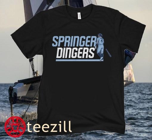 AL Player George Springer Dingers In Toronto Shirt