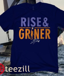 Brittney Griner Rise and Griner Phoenix Mercury T-Shirts