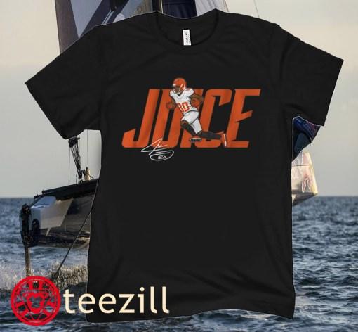 Jarvis Landry Juice Football Tee Shirt
