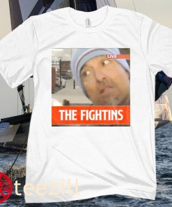LIVE THE FIGHTINS TEE SHIRT