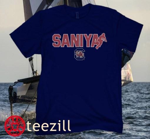 Saniya Rivers South Carolina Logo T-Shirt