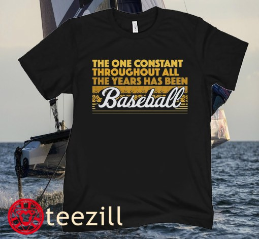 The One Constant Is Baseball Chicago Shirt