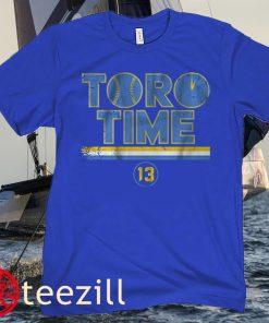 Abraham Toro Time Seattle Baseball T-Shirt