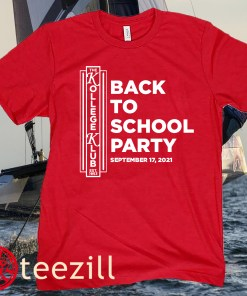 BACK TO SCHOOL PARTY 2021 TEE SHIRT