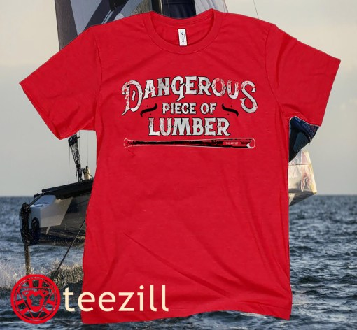 DANGEROUS PIECE OF LUMBER SHIRT NICK CASTELLANOS BASEBALL