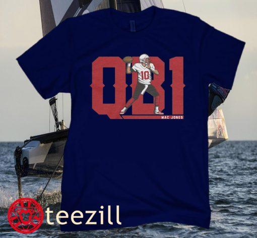 Mac Jones QB1 T-Shirt Northeast Football