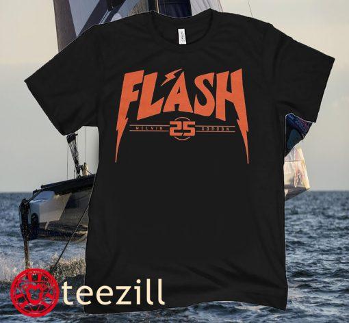 Melvin Gordon Flash Football Tee Shirts