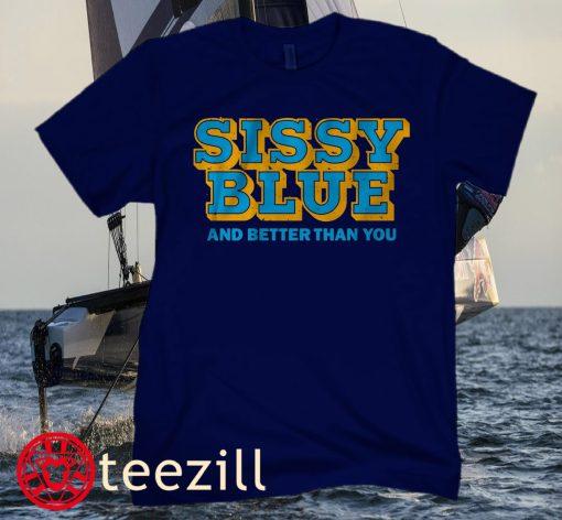 SISSY BLUE SHIRT