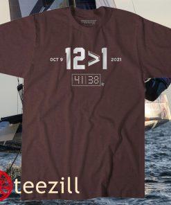 12 ></noscript> 1 College Station TX Football Tee Shirt