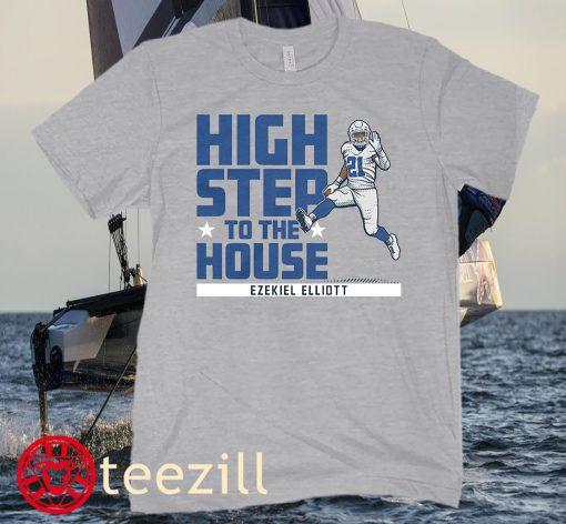 Ezekiel Elliott High Step To The House Football Shirt