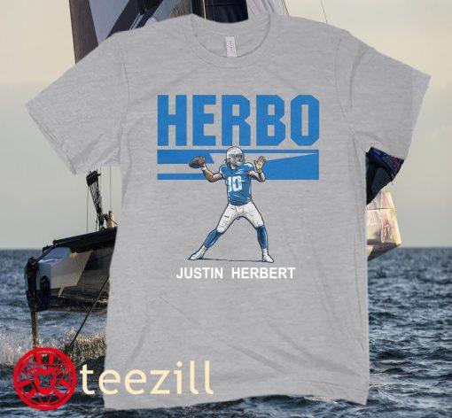 JUSTIN HERBERT- HERBO MODE TEE SHIRTS
