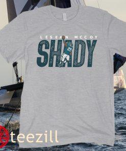LESEAN MCCOY SHADY FOOTBALL T-SHIRT