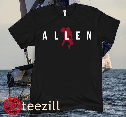 OFFICIAL JOSH ALLEN AIR ALLEN T-SHIRTS