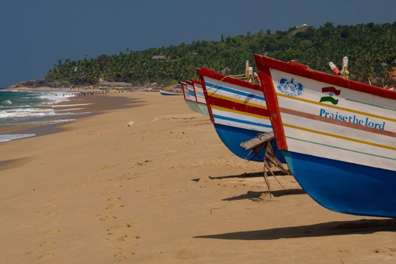 Kovalam Beach India