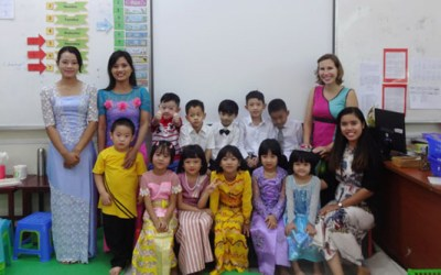 Teaching English at a Montessori in Myanmar