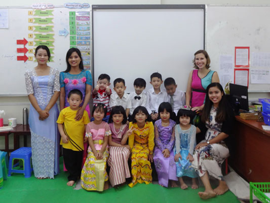 Teaching in Myanmar