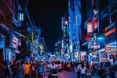 Ho Chi Minh street scene.