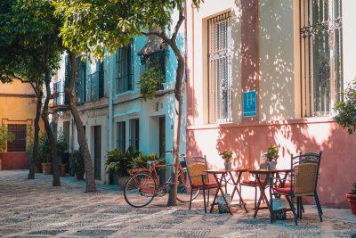 Street scene in Seville