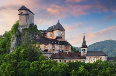Zilina castle in Slovakia