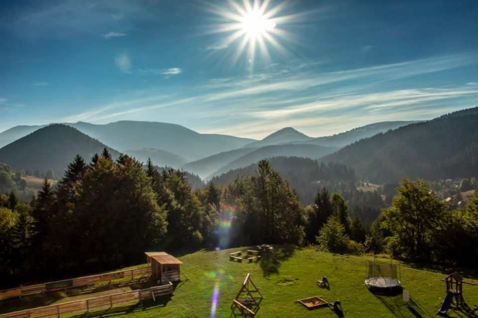 Tatra mountains in Slovakia