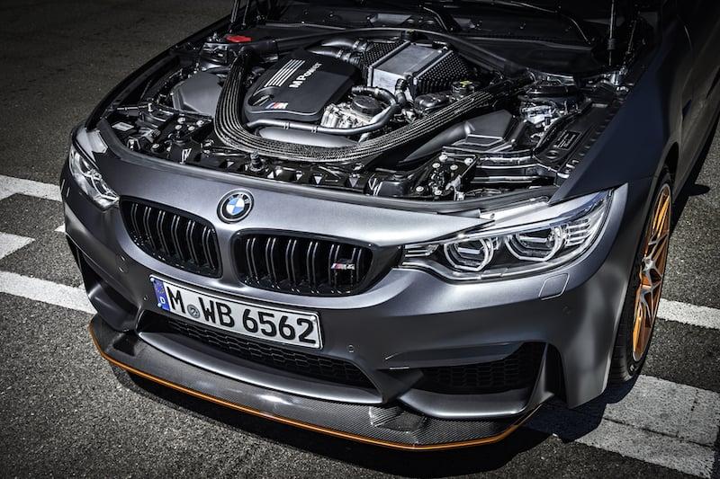 Inyección de agua del BMW M4 GTS 2016