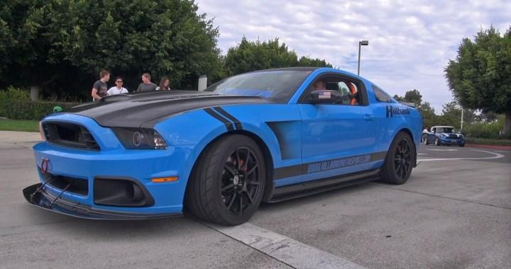 El nuevo Ford Mustang Shelby GT500 usa el mismo supercargador que el Chevrolet Corvette ZR1