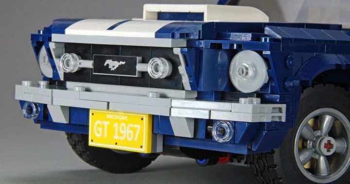 El Ford Mustang Fastback de 1967 es lo último en ser inmortalizado en Legos