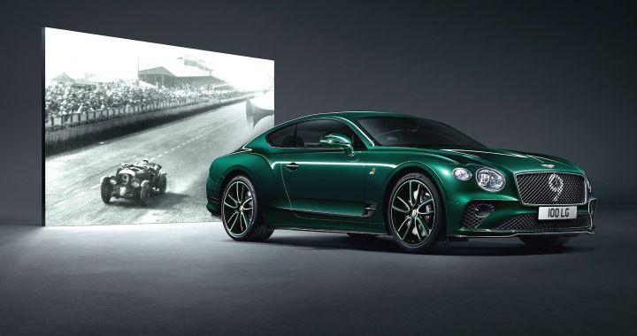La edición número 9 del Bentley Continental GT celebra los 100 años de la marca