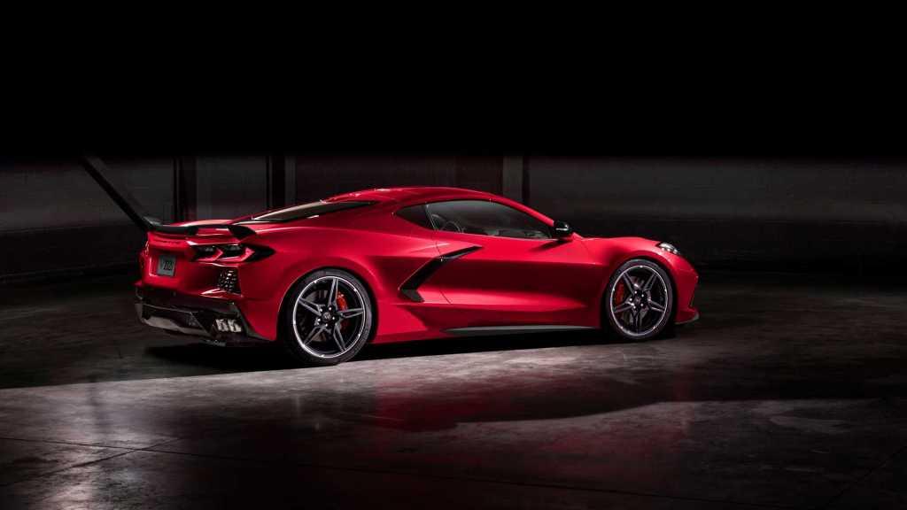 Chevrolet Corvette Stingray 2020 rojo