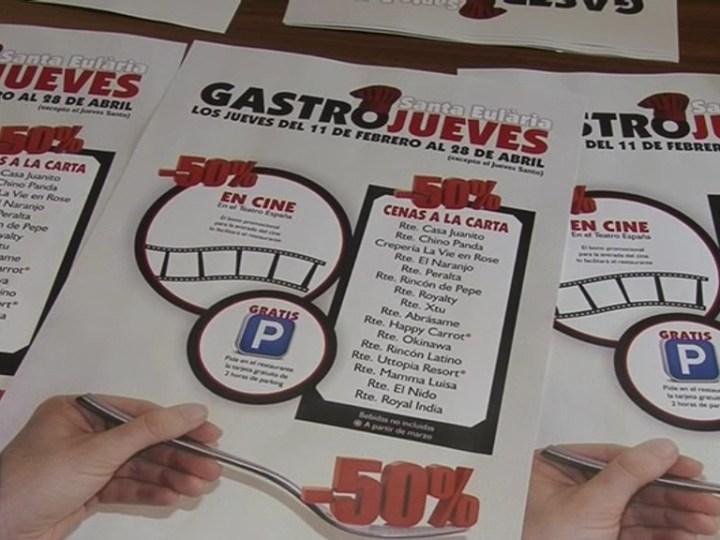 09/02 Comença la cinquena edició del Gastrojueves a Santa Eulària