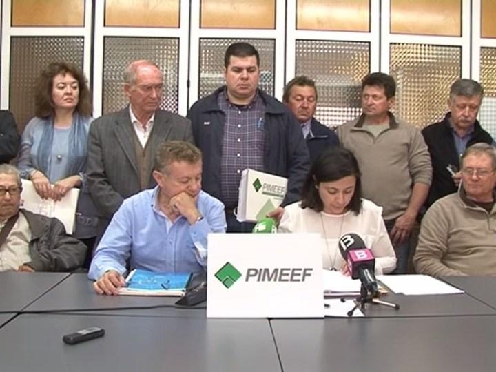 31/03 PIMEEF vol portar el decret de sequera als tribunals