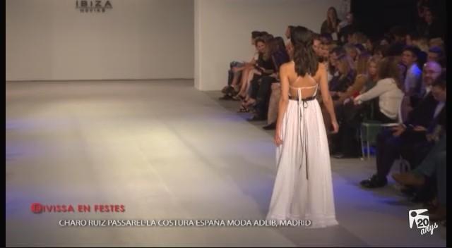 19/04 Eivissa en Festes: Passarela Costura España Charo Ruiz