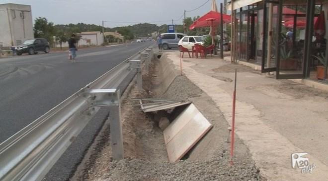 28/06 La carretera (inacabada) de sant Joan