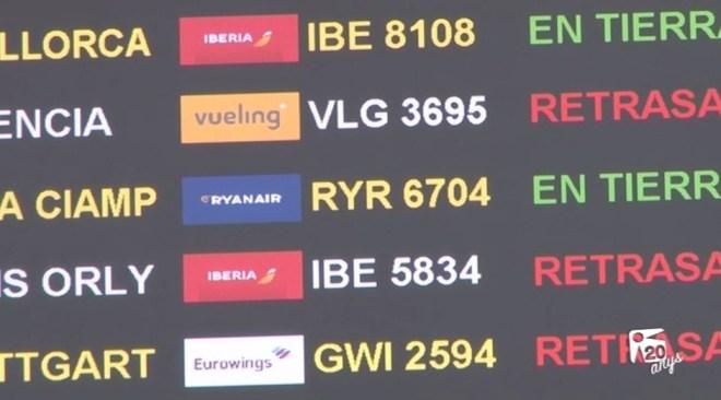 04/07 Eivissa una de les destinacions més afectades per Vueling