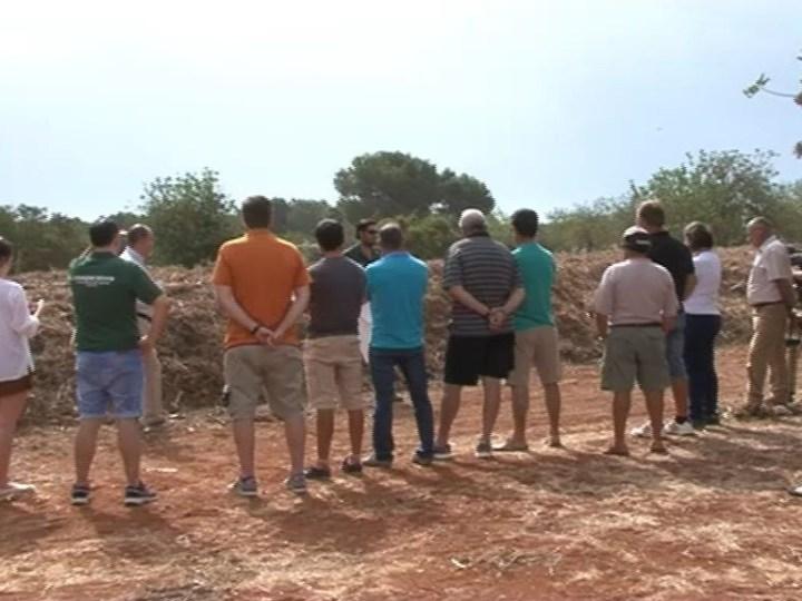 08/07 Aplicació dels llots de la depuradora de Santa Eularia per ús agricola