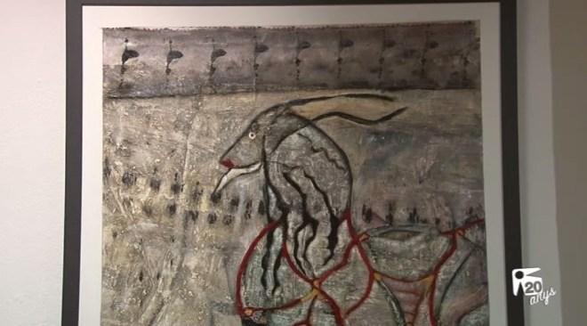 18/07 Cristina Ereñu es mostra a 'Districte Hipérbole'
