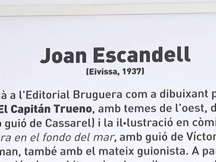 02/08 Joan Escandell mostra la seva cara més personal a Sa Nostra Sala