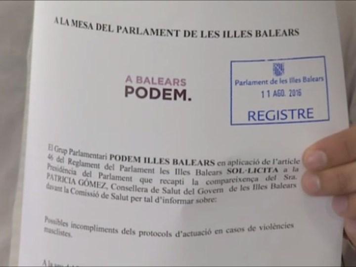 11/08 Podem demana explicacions sobre els protocols per agressió sexual