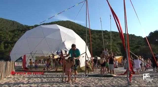 11/09 Eivissa en Festes - Jornada D'activitats de circ a Cala Llonga