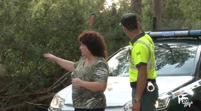26/10 Salvada de morir ofegada per un intrèpid agent de la Guàrdia Civil