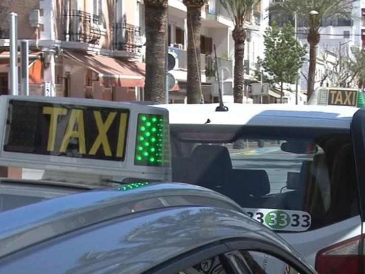 Els taxistes d'Eivissa satisfets després de la primera temporada amb el GPS únic