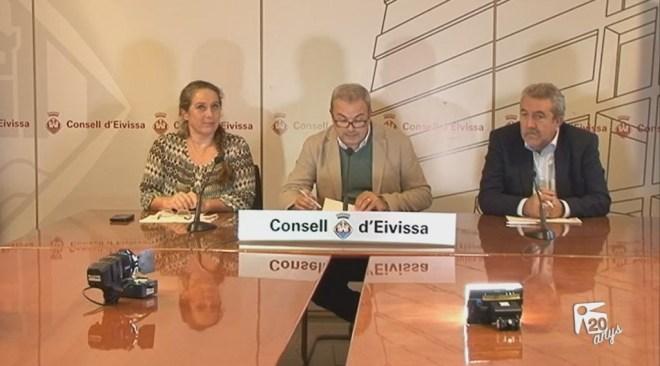 28/11 El pressupost del Consell d'Eivissa creix un 5,8%
