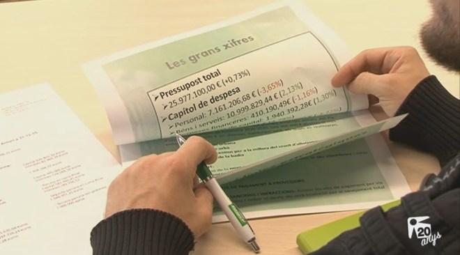 24/11 El deute de Sant Antoni podria arribar als 45 milions d'euros