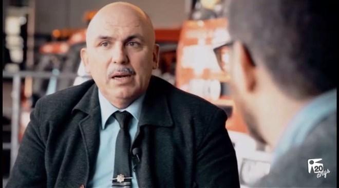 18/12 Sardinas Negras: Miguel Sevilla - Jefe de Bomberos