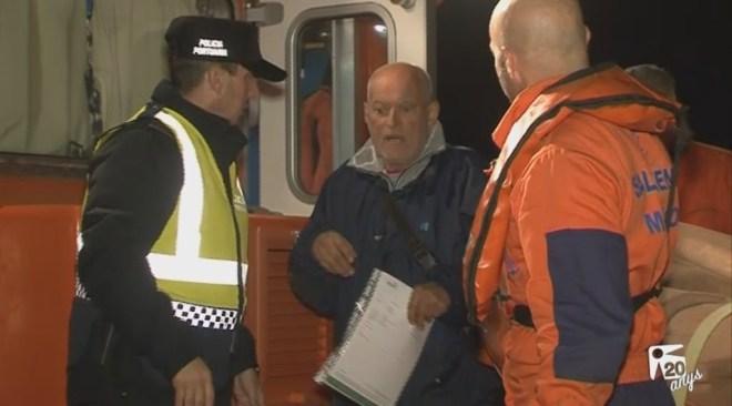 23/12 Rescaten dos tripulants d'un veler que ha estat cinc dies a la deriva