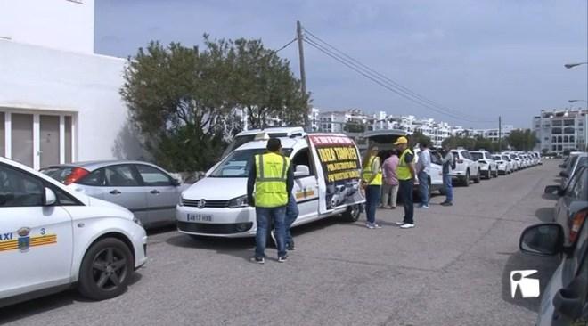 26/04 Vaga de taxistes contra l'intrusisme