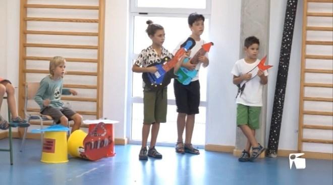 31/08 Santa Gertrudis posa fi a l'escola d'estiu