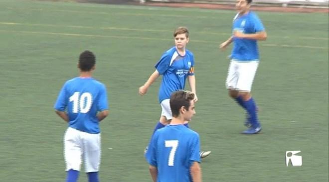 9/10 N'Andrea Ródenas ja juga amb el Sant Rafel cadet
