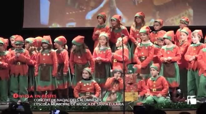 15/11 Eivissa en festes – Concert de nadal. Escola Municipal de música de Santa Eulària