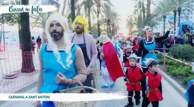 13/02 Eivissa en Festes: Carnaval de Sant Antoni 2018
